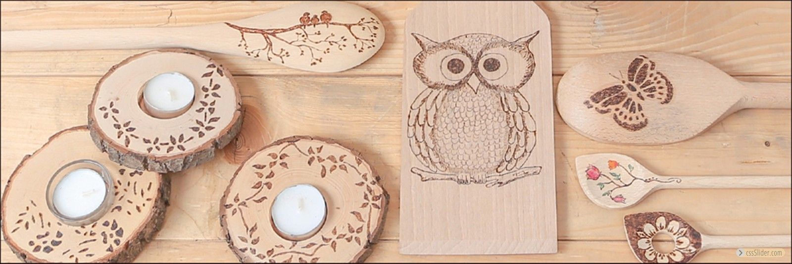these motives were made with a Brennpeter - pyrography machine